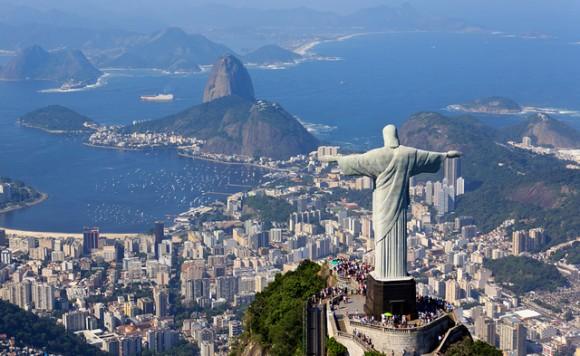 ブラジルの3つの時差と主要都市へのフライト時間まとめ