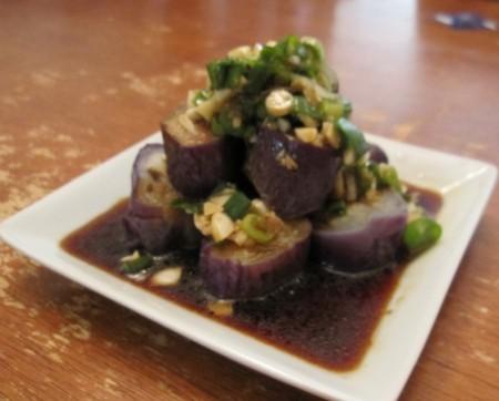 台湾へ行ったら絶対食べたいおすすめ家庭料理10品_涼拌茄子