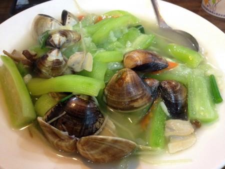 台湾へ行ったら絶対食べたいおすすめ家庭料理10品_蛤蜊糸瓜