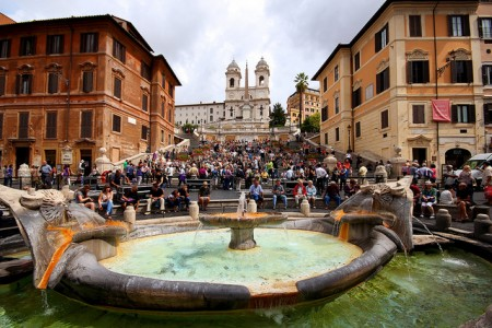 ローマを2〜3日で超満喫できるおすすめ観光スポット10選_スペイン広場