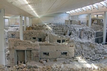 ギリシャのサントリーニ島特集!人々を魅了する8つの理由_アクロティリ遺跡