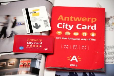 アントワープ観光を3泊4日で超満喫する8つのコツ_アントワープシティカード