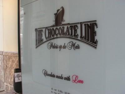 アントワープ観光を3泊4日で超満喫する8つのコツ_チョコレートライン