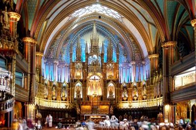 モントリオールを2泊3日で超効率よく観光する7つのコツ_ノートルダム聖堂