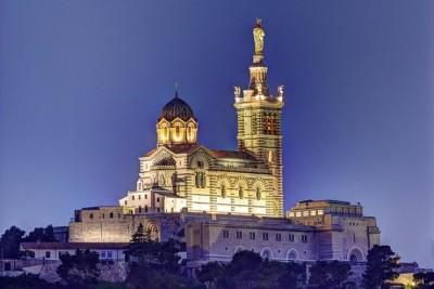 初めてマルセイユを観光するときのおすすめスポット8選!ノートルダム・ド・ラ・ガルド寺院