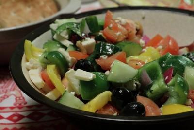 現地で絶対食べたいおすすめギリシャ料理10選!_グリークサラダ