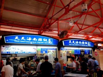 シンガポールのローカルグルメで絶対外せないお店8選!天天海南鶏飯