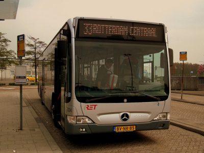 オランダの空港を徹底調査!旅行前に知るべき7つの特徴!ロッテルダム空港バス
