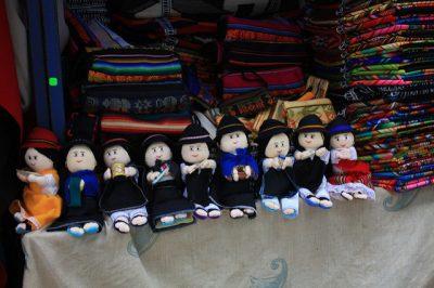 エクアドルお土産調査!貰って嬉しい超おすすめ10選!民族衣装マスコット人形