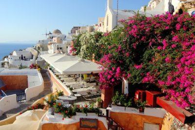 ギリシャ・サントリーニ島で絶対行きたいカフェ・レストラン10選!Restaurant Kastro