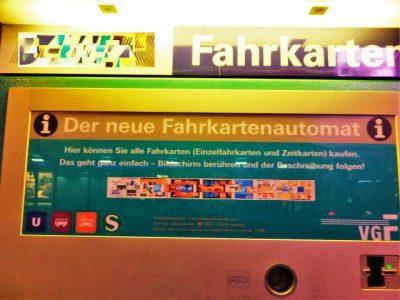 ベルリンを観光する時のおすすめ移動手段!旅行前に知るべき7つの事!チケット発券機