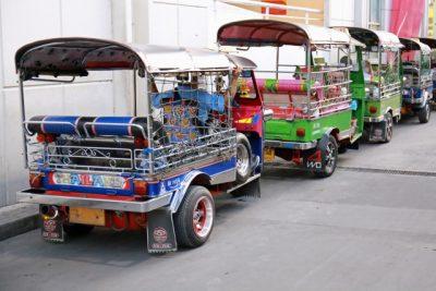 タイ・バンコク観光のおすすめ移動手段!旅行前に知るべき7つの事!トゥクトゥク
