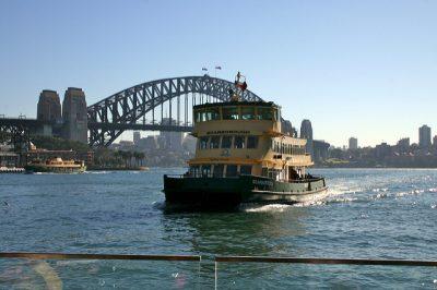 シドニー観光のおすすめ移動手段!旅行前に知るべき7つの事!フェリー