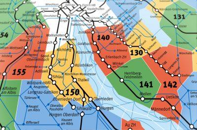 スイス、チューリッヒ観光おすすめ移動手段!旅行前に知るべき7つの事!ゾーンマップ