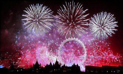 10月、11月、12月のイギリス国内おすすめイベント特集!ニューイヤーズイヴ