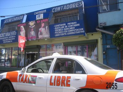 メキシコのタクシー事情やおすすめ移動手段!旅行前に知るべき7つの事!タクシー(リブレ)