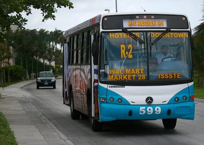 メキシコのタクシー事情やおすすめ移動手段!旅行前に知るべき7つの事!路面バス