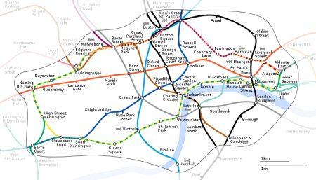 ロンドンのタクシー事情やおすすめ移動手段!旅行前に知るべき7つの事!ゾーン