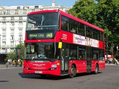 ロンドンのタクシー事情やおすすめ移動手段!旅行前に知るべき7つの事!バス
