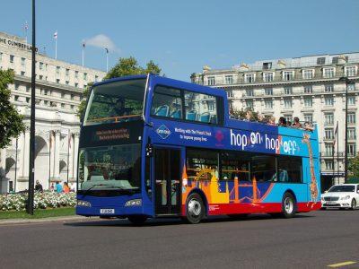 ロンドンのタクシー事情やおすすめ移動手段!旅行前に知るべき7つの事!バス2