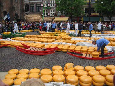 オランダの1月、2月、3月おすすめ人気イベント特集!アルクマールのチーズ市