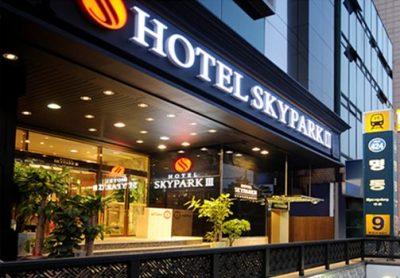 ソウル・明洞の人気おすすめホテルと予算で選ぶ7つのコツ!ホテル スカイパーク ミョンドン スリー