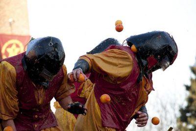 1月、2月、3月のイタリア国内おすすめイベント特集!オレンジ戦争