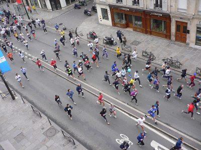 フランスの1月、2月、3月おすすめ人気イベント特集!パリ ハーフマラソン