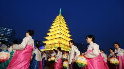 韓国の4月、5月、6月おすすめ人気イベント特集!燃灯会