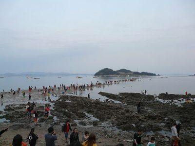 韓国の4月、5月、6月おすすめ人気イベント特集!珍島神秘の海割れ祭り
