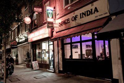 ロンドンで絶対行きたいおすすめ人気カフェ・レストラン8選!Spice of India