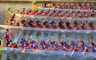 台湾の4月、5月、6月おすすめ人気イベント特集!ドラゴンボートレース