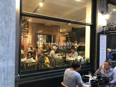ブリュッセルで絶対行きたいおすすめ人気カフェ・レストラン12選!Le Marmiton外観