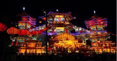 台湾の7月、8月、9月おすすめ人気イベント特集!雞籠中元祭