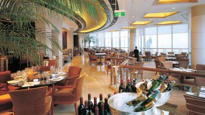 上海で絶対行きたいおすすめ人気カフェ・レストラン8選!Grand Hyatt Shanghai Patio Lounge